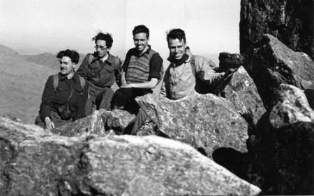 Summit of Tryfan, Easter 1948