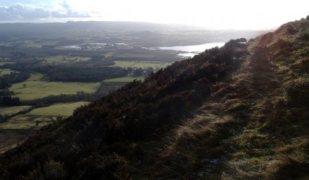 Loch Lomond from the slopes of Conic Hill