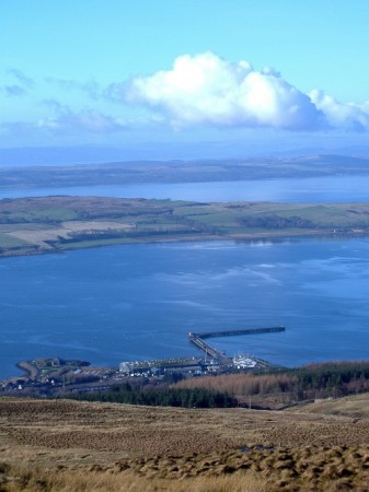 Overlooking Great Cumbrae