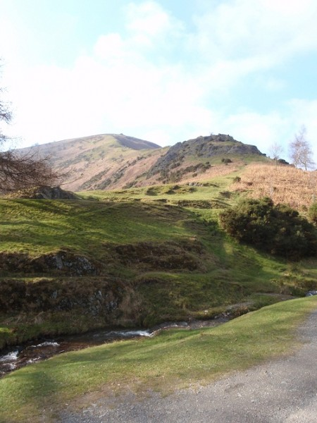 In Carding Mill Valley, Shropshire