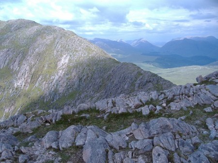 On the ridge to Beinn Sgulaird