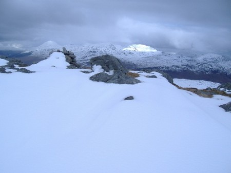 The Summit of Beinn Damhain