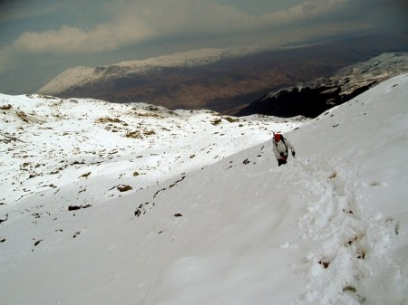 On Ben More, April 2008