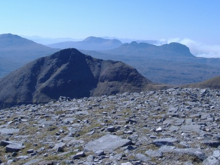 Assynt 2011, from Sail Garbh, Quinag
