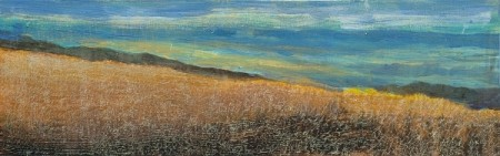 'Autumn hillside, above Crieff'