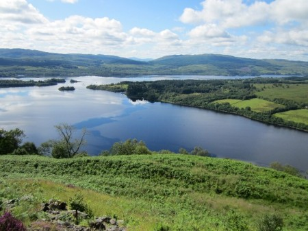 Loch Awe from the hydro road