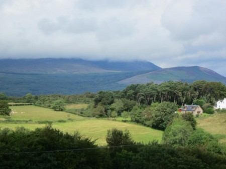 August on the Isle of Arran