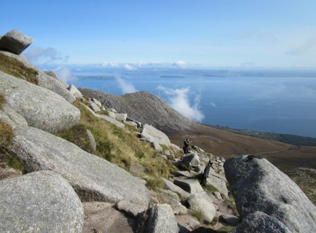 East from Goat Fell