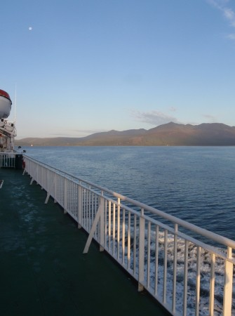 'Heading for Goat Fell ...on the 7am ferry'