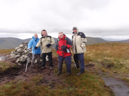 A little bit of Europe at the summit of Beinn Dubh