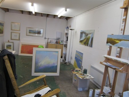 Inside my new studio (Studio J)