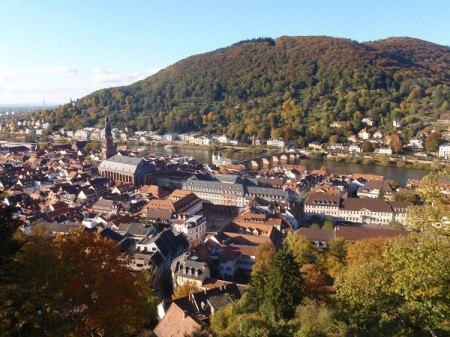 View from the castle, Heidelberg