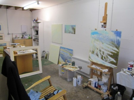 New Art Studio - December
