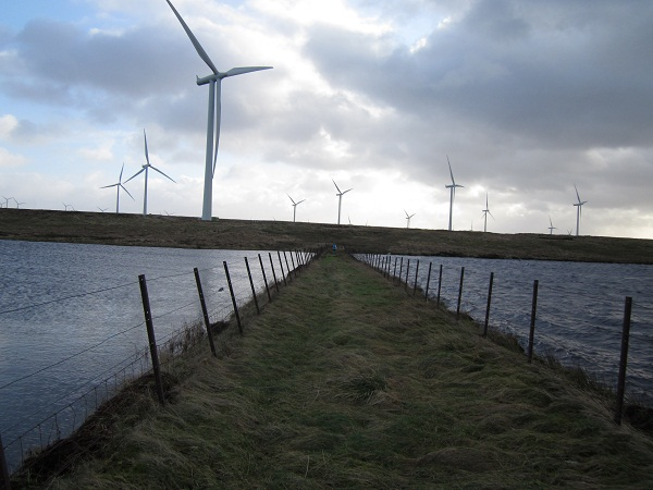Windfarm on Eaglesham Moor