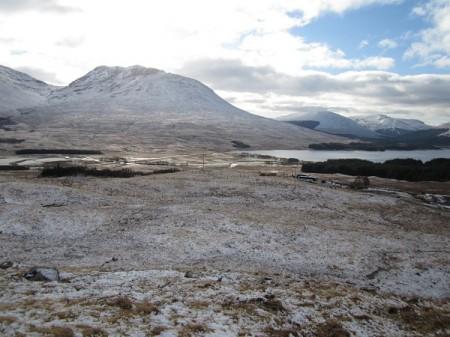 'Loch Tulla and Beinn an Dothaidh'