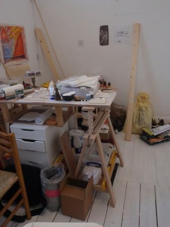 'My old studio ....newly occupied'