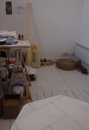 'My old studio ....newly occupied'