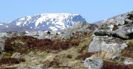 Ben Nevis from Meall Bhalach ...with a bit of zoom!