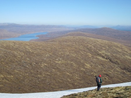 A wild and beautiful country, NE from Beinn a' Chrulaiste