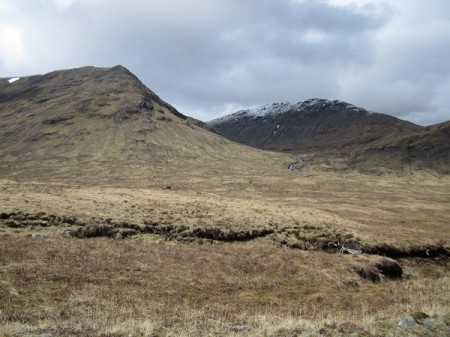Some of the mountains surrounding Meall Tionail