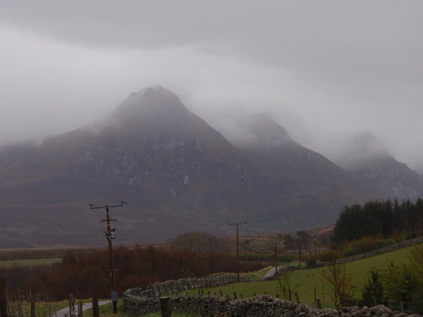 Ben Loyal emerging from this mornings deluge
