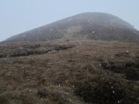 Snow arriving, Ben Griam Beg