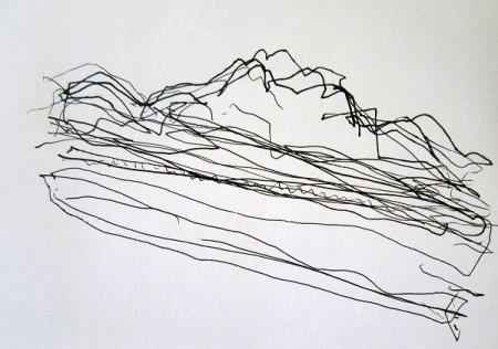 'Sutherland sketch, Ben Loyal'