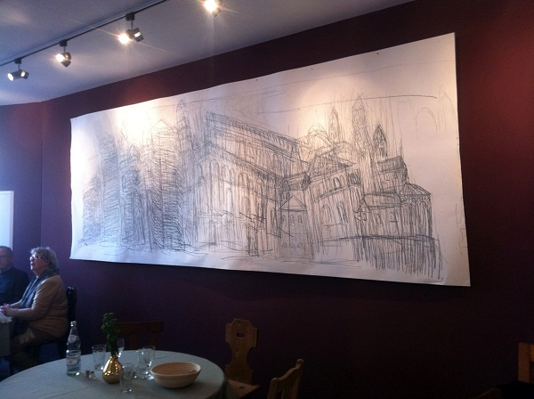 Dom drawing, Speyer