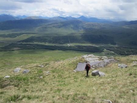 'From the slopes of Stob Ghabhar'