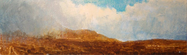 'From the slopes of Beinn Griam Beg, Sutherland'