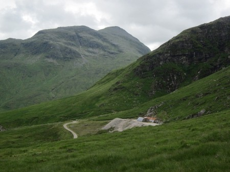 Ben Oss from just above the gold mine on Beinn Chuirn