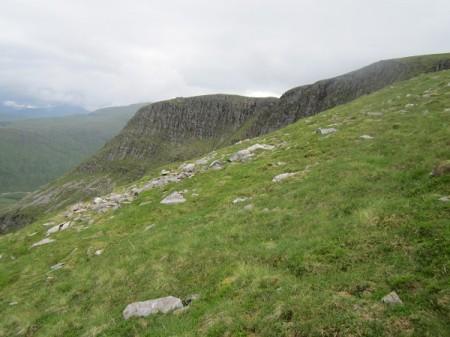 Overlooking the corrie, Beinn Chuirn