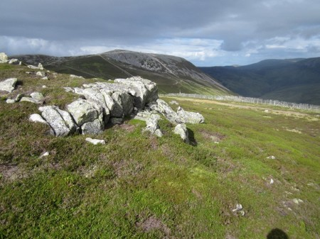 Carn Aosda from below the Cairnwell