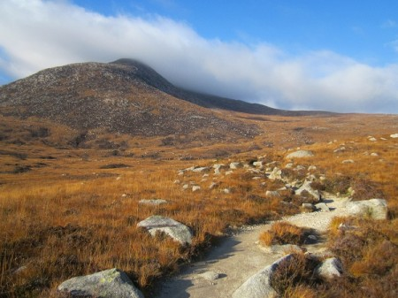 Below Goat Fell