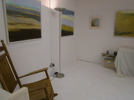 Keith Salmon Art Studio, Open Weekend, Courtyard Studios, Irvine