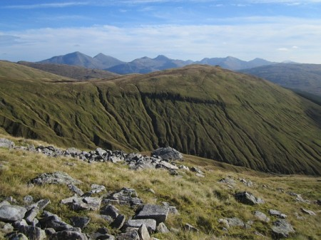 The Crianlarich Hills from the slopes of Beinn Odhar