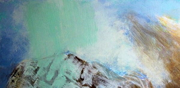 'Above Glen Coe, late autumn'