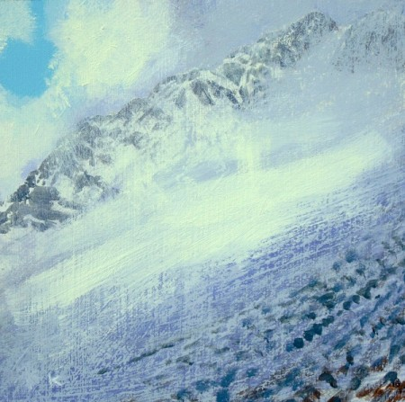 'On Ben Lui, winter'