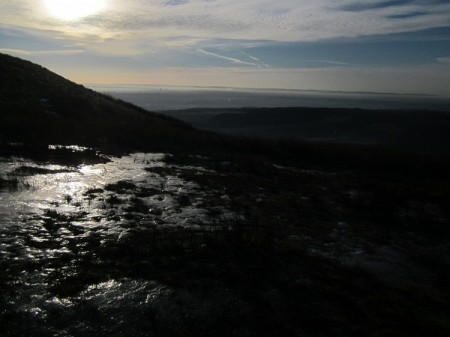 Ice on the fells