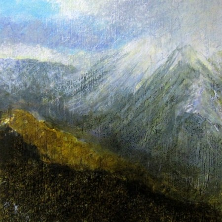 'On Blackmount, December afternoon'