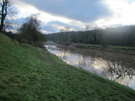 River Severn near Hampton Load, Shropshire