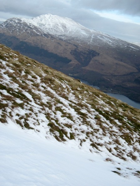 Ben Lomond from the slopes of Beinn Dubh