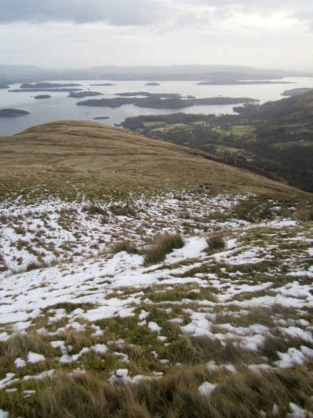 Loch Lomond from the slopes of Beinn Dubh
