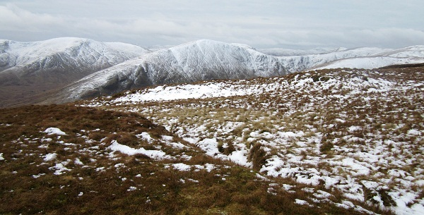 The Luss Hills, from the summit of Beinn Dubh