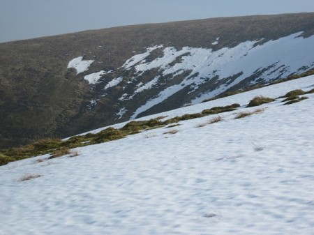 Snow on Culter Fell