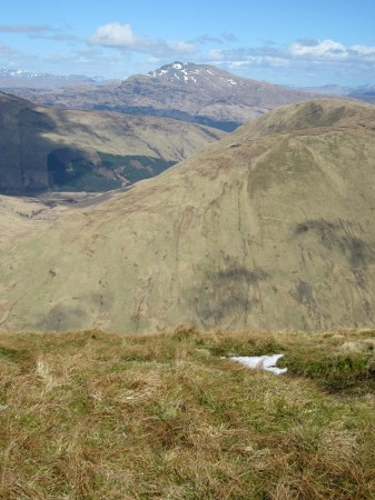 Ben Lomond from the summit of Beinn Eich