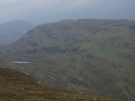 Meall Teibh from the summit of Beinn Inverveigh