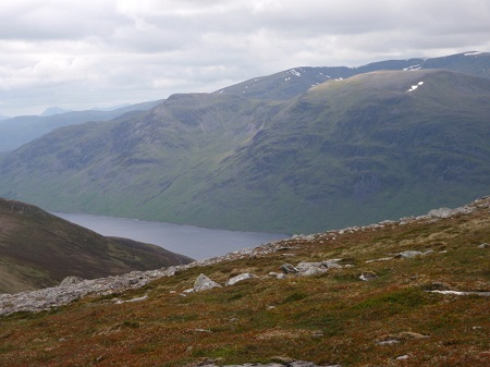 Loch Ericht from Beinn Udlamain