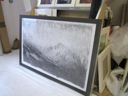 New Glen Rosa drawing framed
