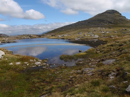 Near the summit of Beinn Dubhchraig